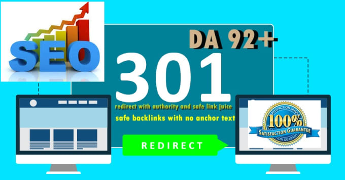 Build above DA92 301 redirect backlink from forbes,  bbc,  etc