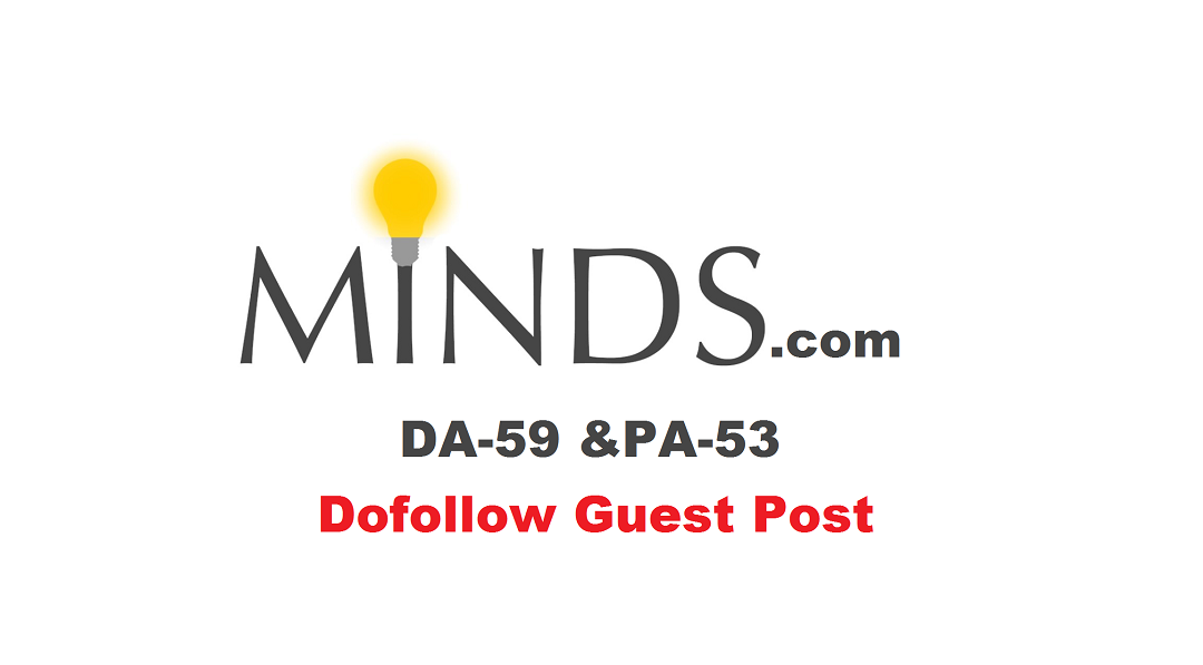 publish Guest Post on Minds with Dofollow Link Discount For Limited