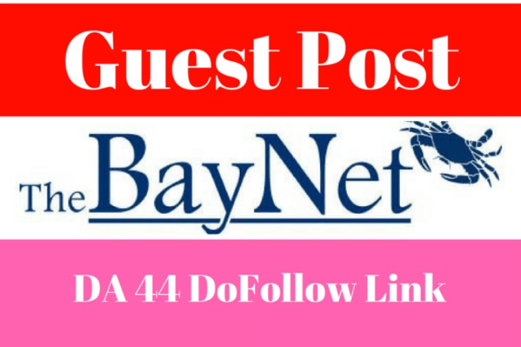 Best offer -> write and Publish A Guest Post With Dofollow Link On Thebaynet DA 93 PA79,  PR 8