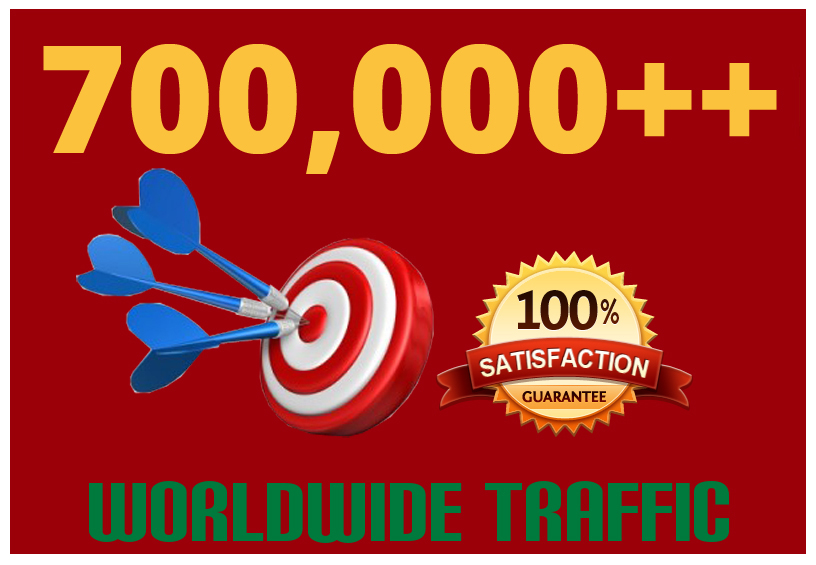 Drive 700,000 Targeted Human Traffic To Your Website Or Blog