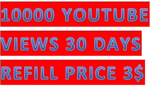 Add fast  10000 High Quality  you tube safe vi.ews price
