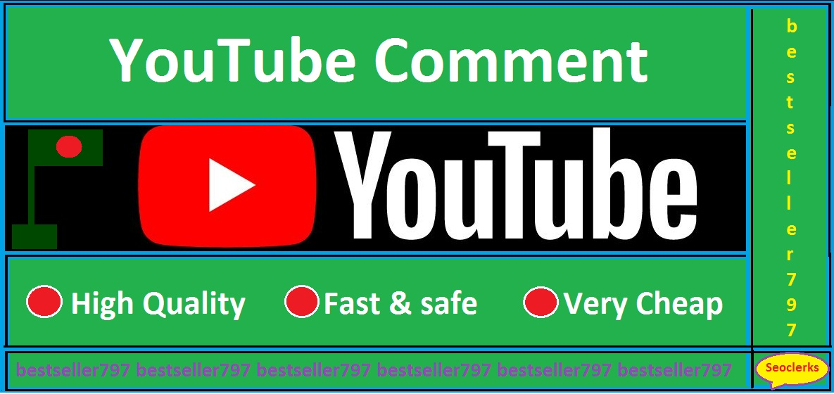 Supper fast 35 YouTube Custom Comments