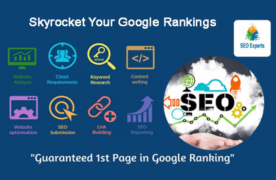 skyrocket your google rankings with offer white hat organic SEO