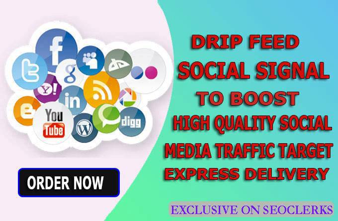 11,000 High Quality Social Signals from the Best 5 Social Media site