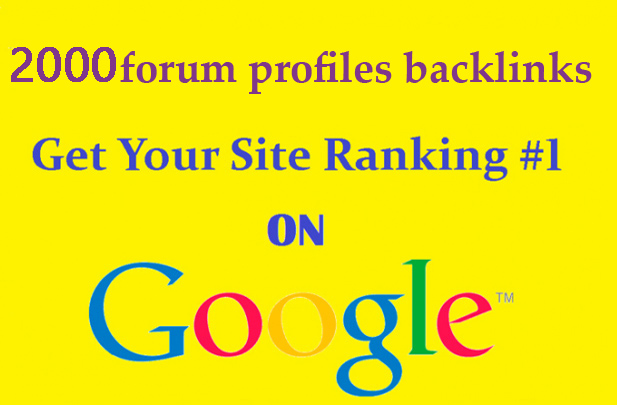 do 2000 forum profiles backlinks