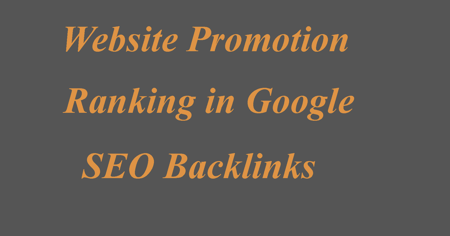 Ranking Website first in Google, Website Promotion & 4000 SEO Backlinks