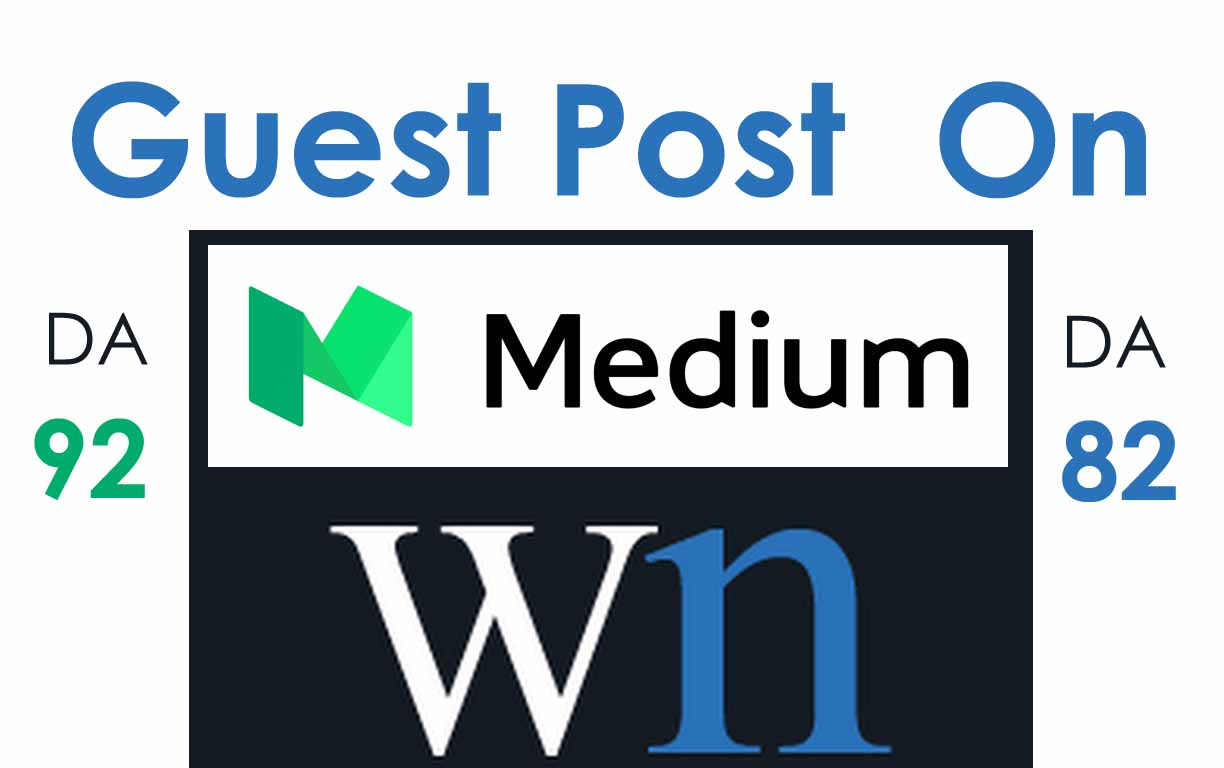 I Will Write And Publish A Guest Post On Medium And W...