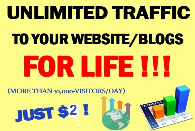 I Will Drive Real 10k+ Traffics for 6 Month To your Website