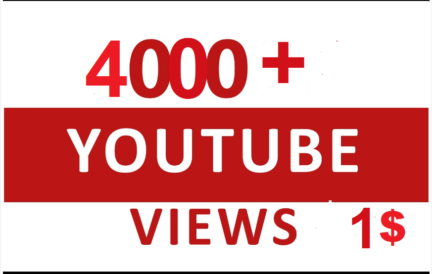 Instant Start 4000+ Non Drop YouTube HR Views within 1-3 hours