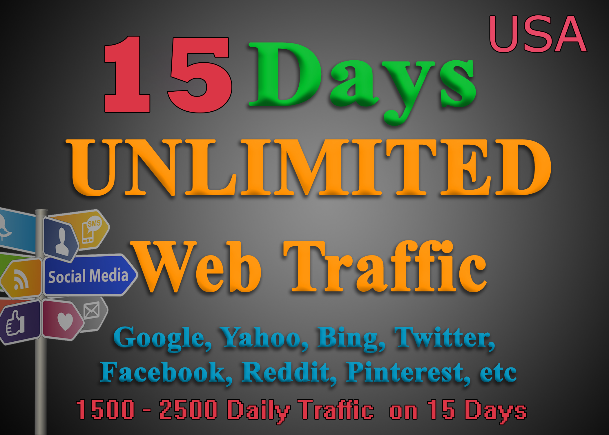 Drive Your Website By Sending Unlimited Targeted Web Traffic