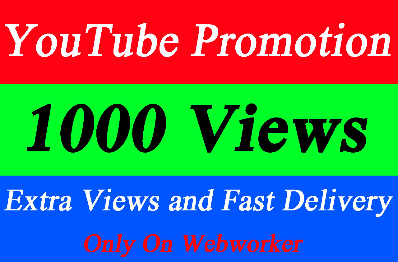 Viral YouTube video Promotion with world wide Audience