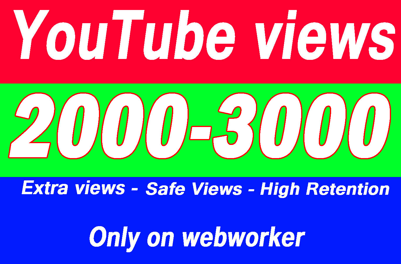 2000 To 3000 YouTube views with extra service 1k 2k 3k 4k 5k 6k 7k 8k 9k 10K 15K 20K 25K 30K 50K 100K Or 1000 3000 4000 5000 6000 7000 8000 9000 10000 15000 20000 50000 100,000 100000 150000 Views