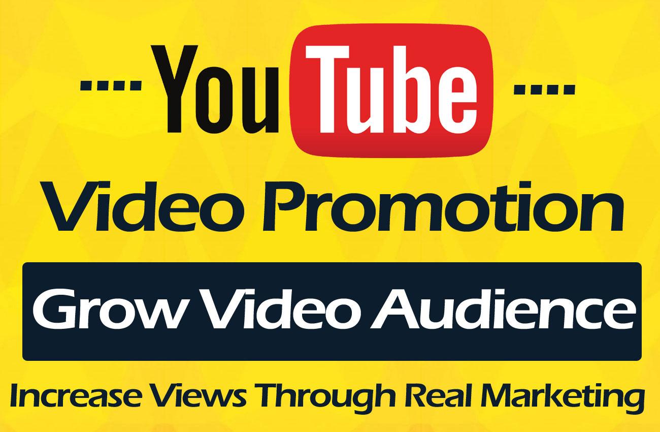 YouTube video Promotion Through social media marketing