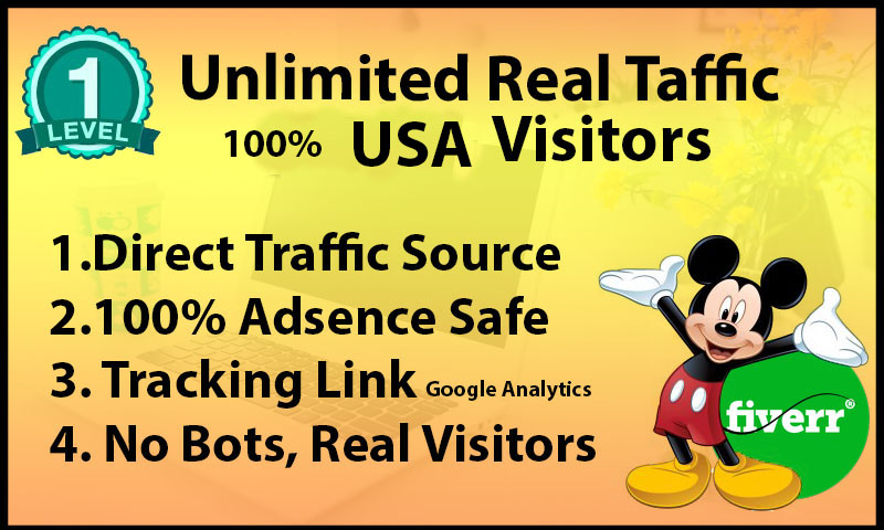 Drive unlimited genuine traffic for 30 days