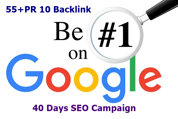 Rank First In Google, 55 Pr10 Backlinks,