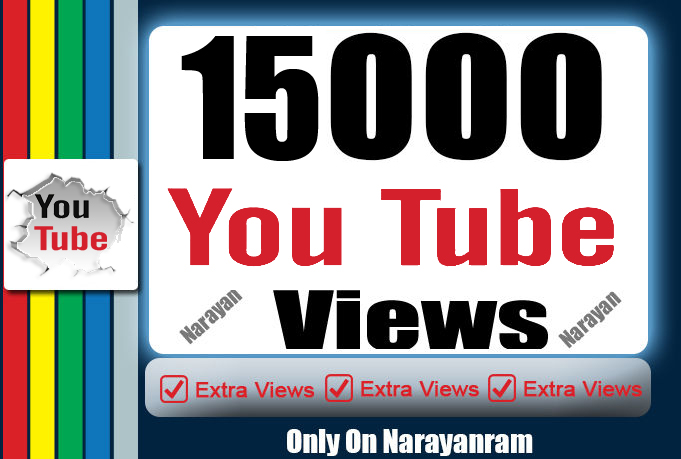 Get 15000 High Quality Views Fully safe Instant Start
