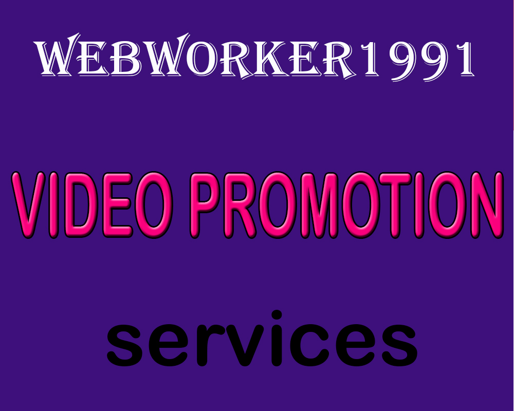 service  YouTube Video Marketing social Media Promotion