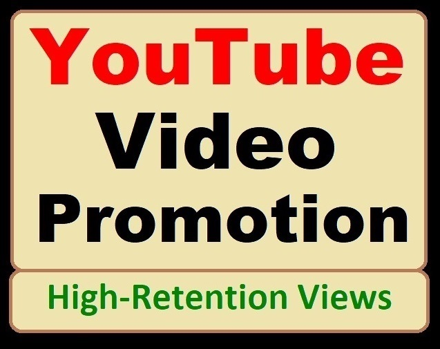 YouTube Video Marketing and Social Media Basic Promotion just