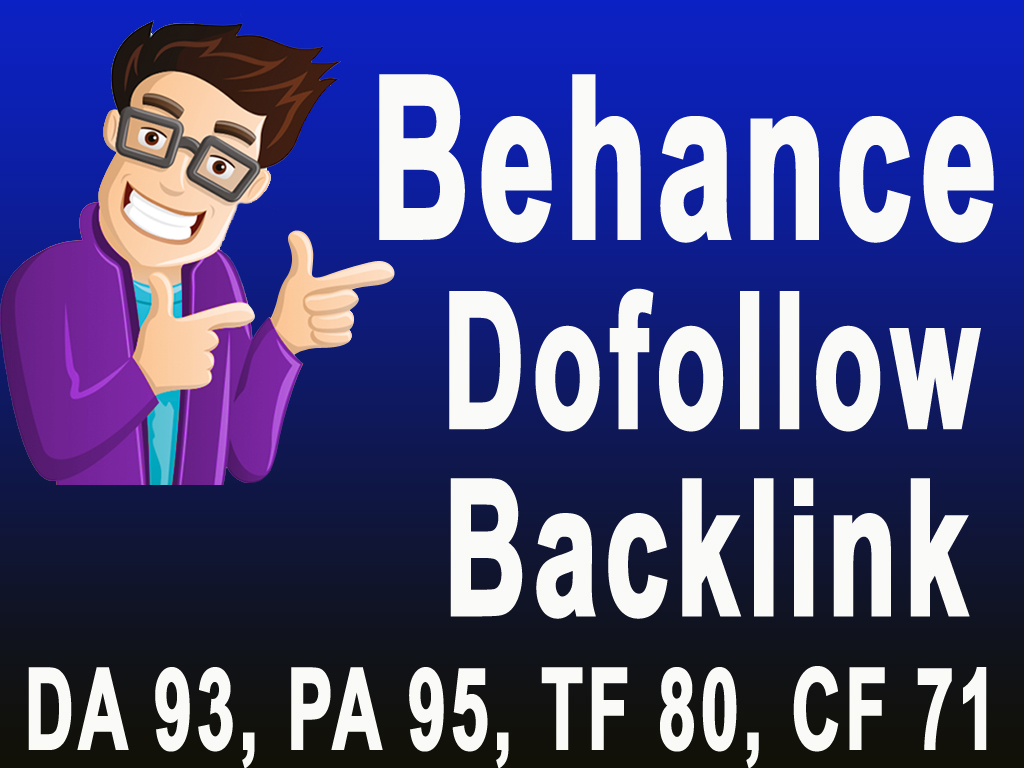 Increase Your Google Rank with High Quality Behance Guest post & Dofollow Backlinks DA93,PA95