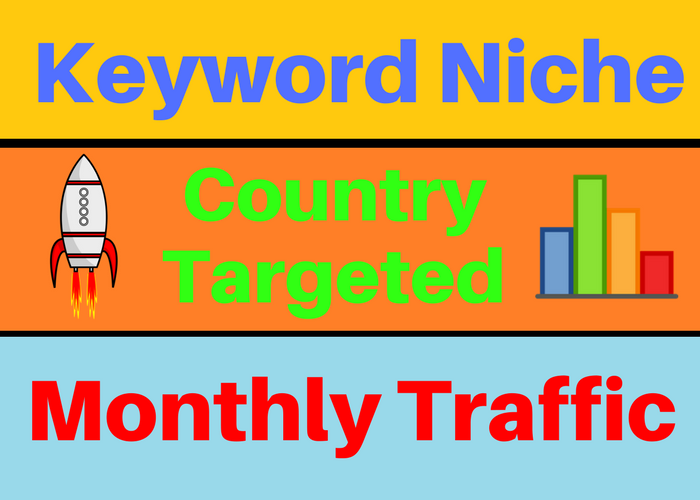 Keyword Targeted Website Traffic Niche Based Monthly