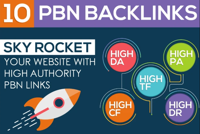 Do 10 Permanent Pbn Links,  High authority Da 20+ Contextual Backlinks