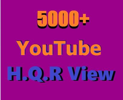 Instant  Video Promotion 5000+ H.Q.R  VU Supper Fast Delivery