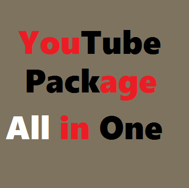 Instant YouTube Video Promotion Pack All In One 150+ Likes, 50+ Custom Comments  & 101+ Subscriber Just