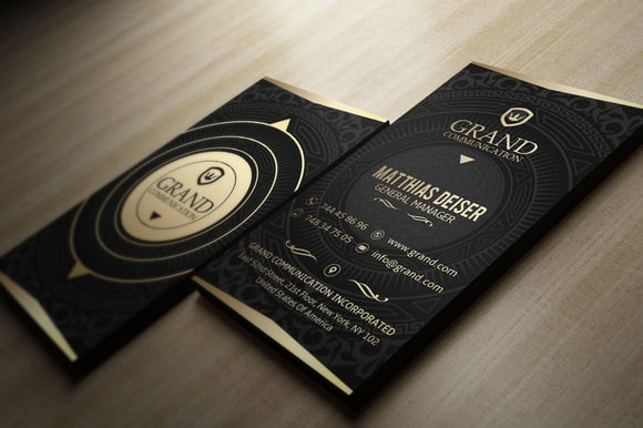 Outstanding And Double Side Business Card
