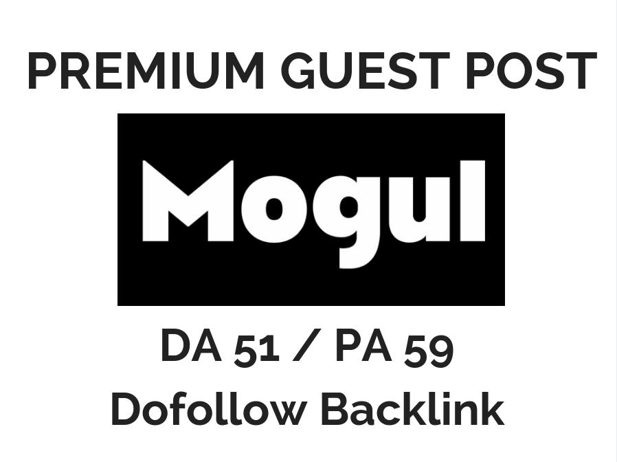 Publish 3 Guest Post on Mogul DA 51 Dofollow
