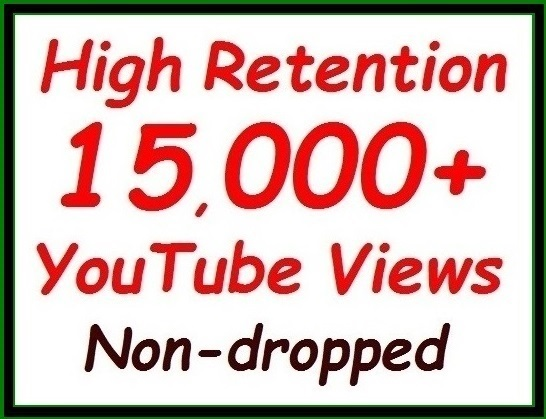 10000+ to 12000+ YouTube Vie ws fully Safe, Real, Non-dropped Guaranteed
