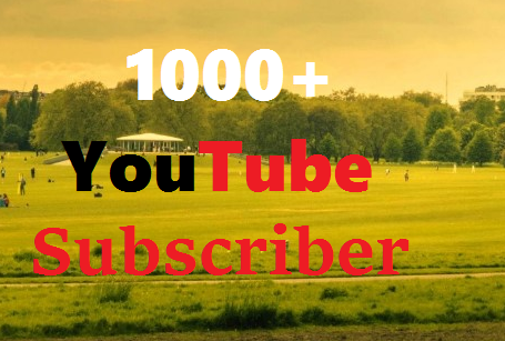 Add Instant 1K/1000+ Real YouTube Subscribers All are Real & Never Drop Guarantee  Get Very Fast
