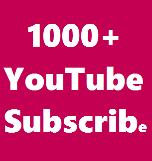Add Instant 1K/1000+ Real YouTube Subcribber All are Real & Never Drop Guarantee  Get Very Fast