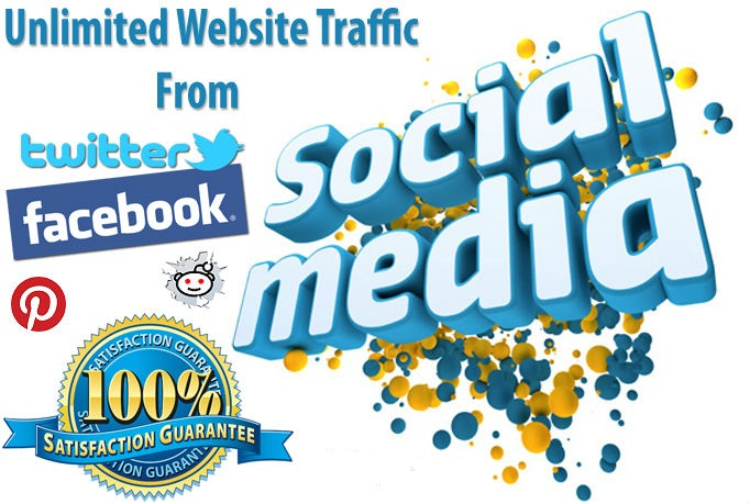 Drive 9,000 Unlimited Social Traffic To Your Site in 30 Days