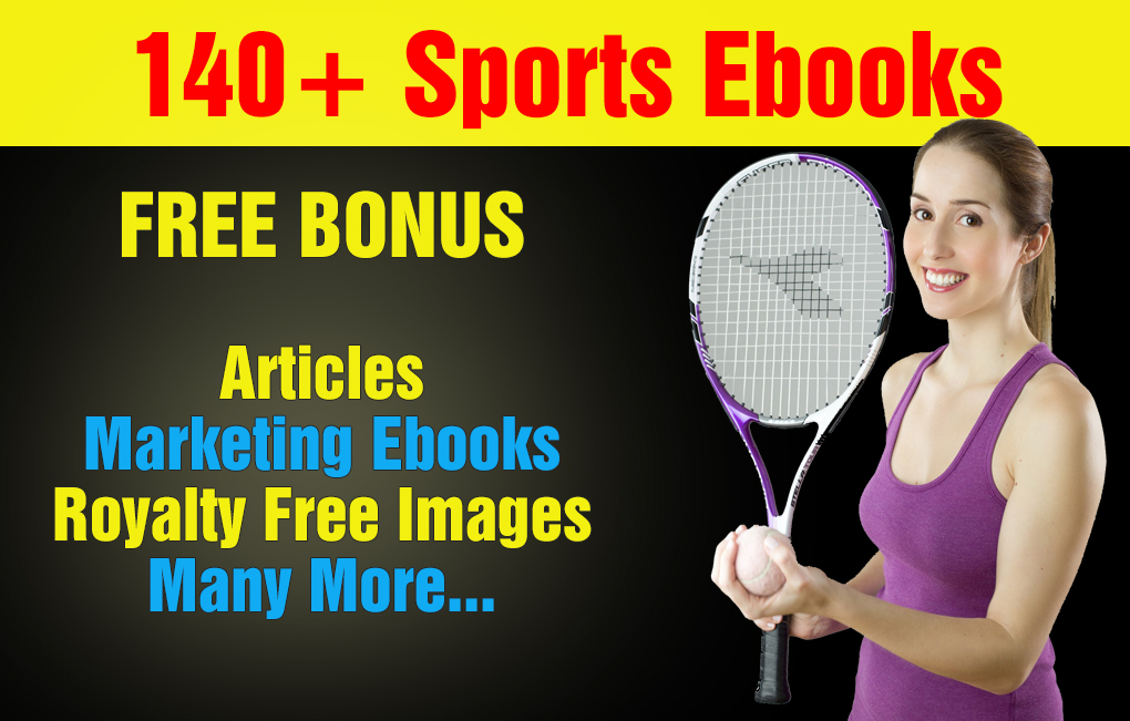 Over 140 Sports Plr,Mrr Ebooks