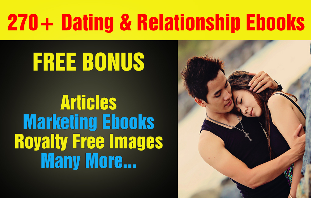 Over 270 Dating, Relationship Plr,Mrr Ebooks, Articles