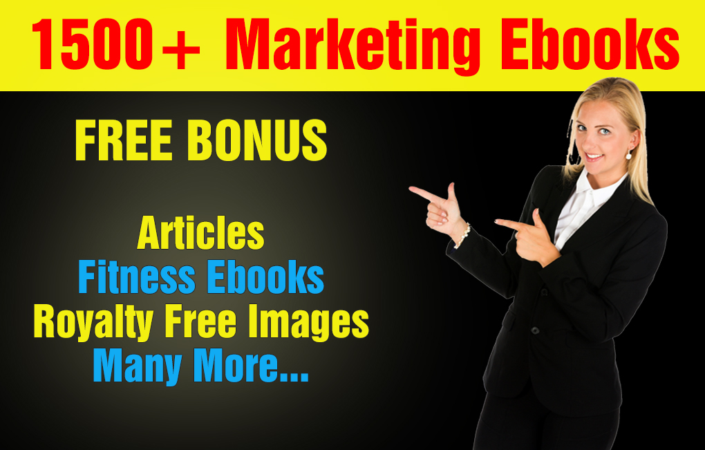 Over 1500 Mrr,Plr Marketing Ebooks And Articles