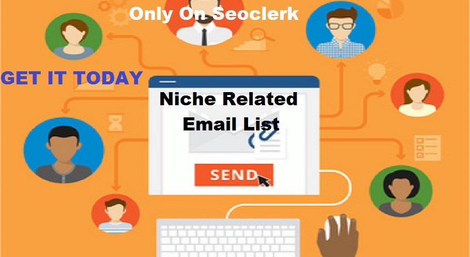 Provide You 50k Niche Related Email List Generated From My Website