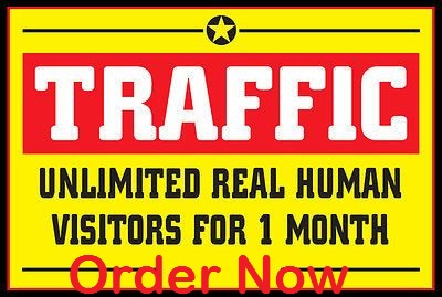 Provide one month unlimited adsense safe webtraffic