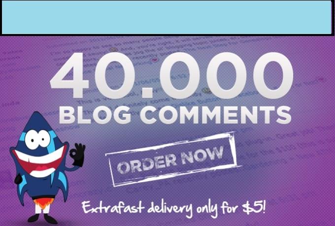 Provide Over 40,000 Live SEO Blog Comment Backlinks, Improve Your Iink Building