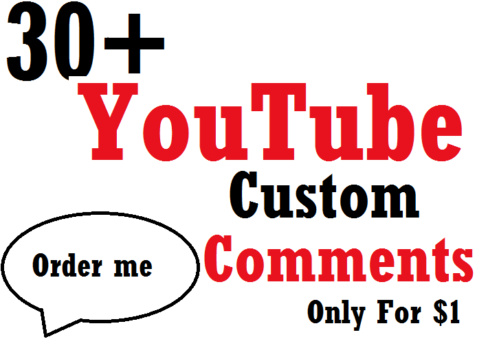 Instant 35 video costom comment super fast Delivery 3-4 Hours