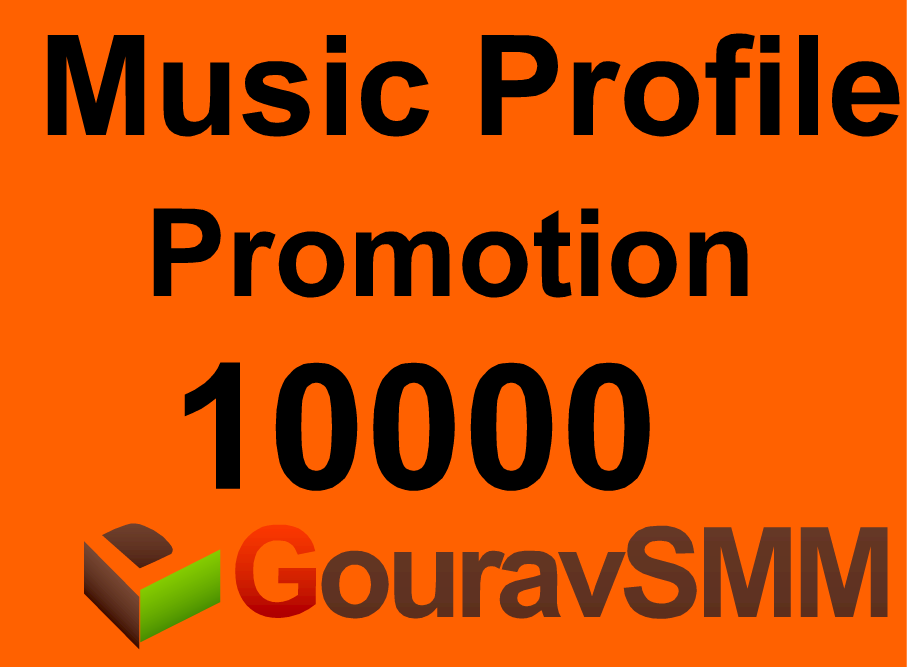 10000+ Followers Or Likes Or Repost on your Music Pro...
