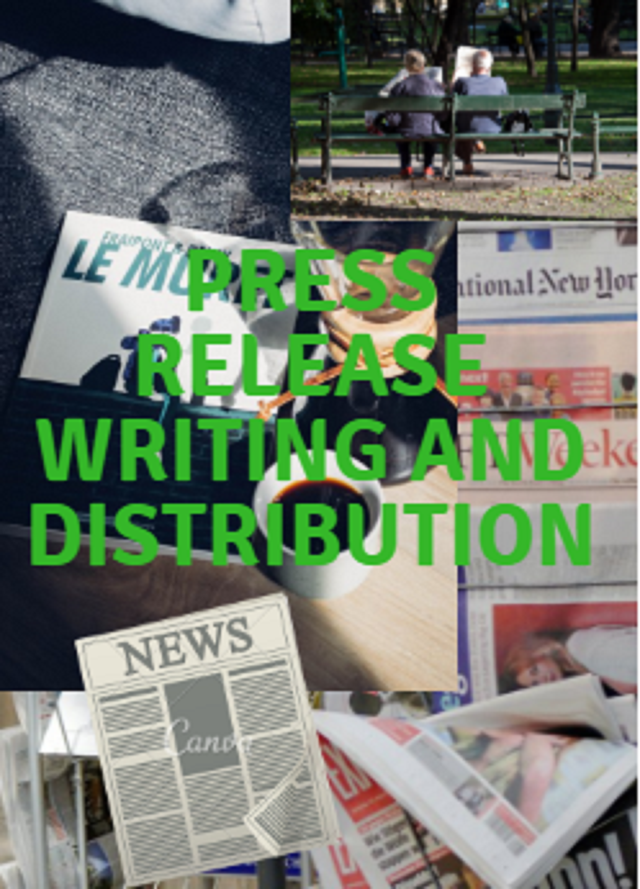 Writing Press Release and Distribute Press Release