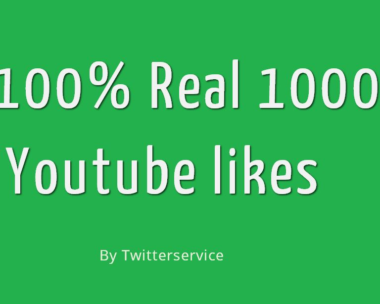 1,000+ YouTube Likes Fast & Safe & also Excelent Likes