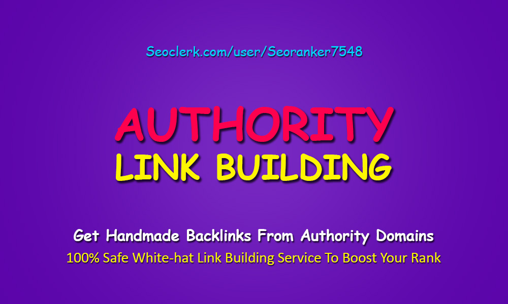 The Best Authority SEO Link Building Service