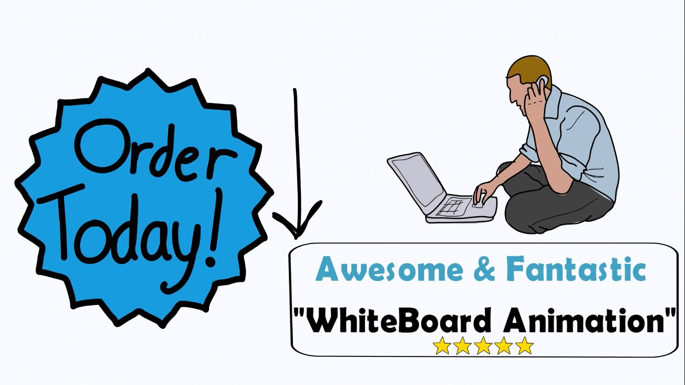 I will make SUPER White Board Explainer Videos