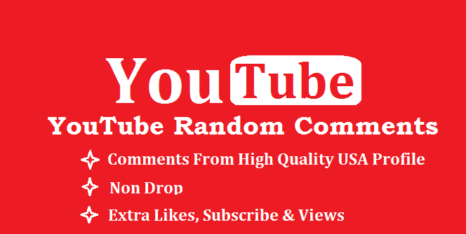 Write 100 Relevant comments on one of your YouTube video