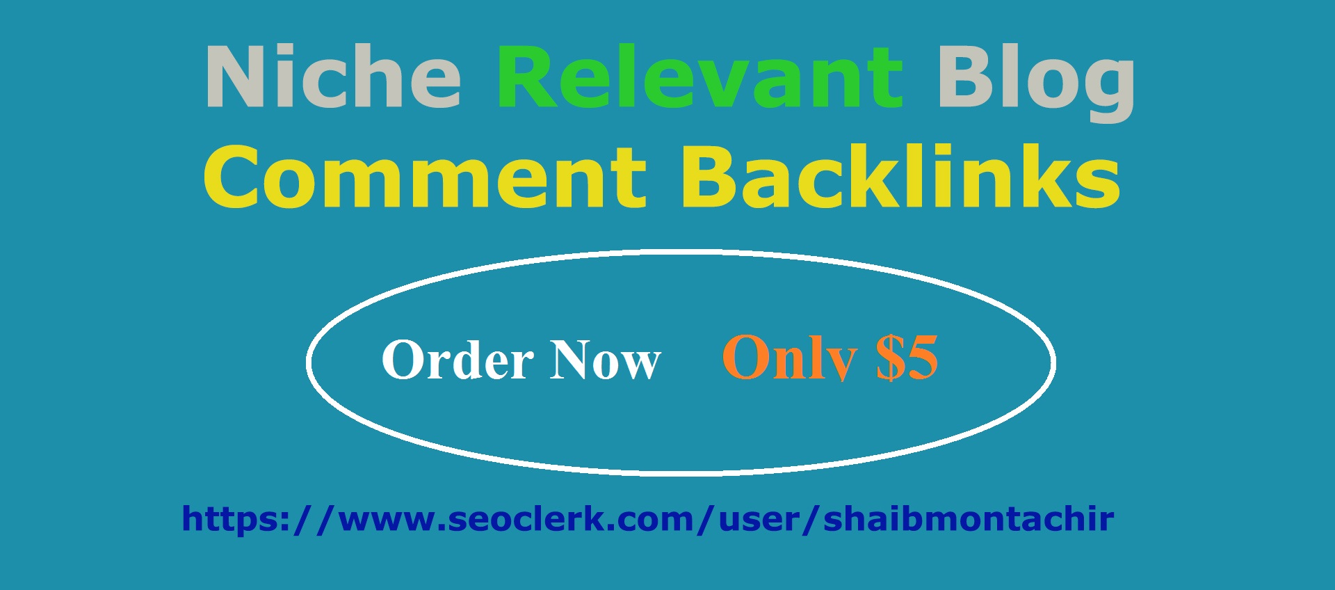 Provide 40 Niche Relevant Blog Comment Backlinks
