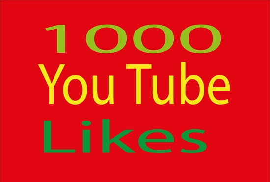 Inflict you high quality 1000 you tube likes