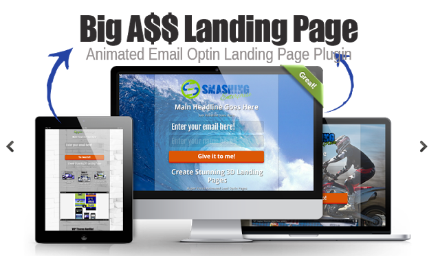 All in One 3D Animated Landing Page [+BONUSES]