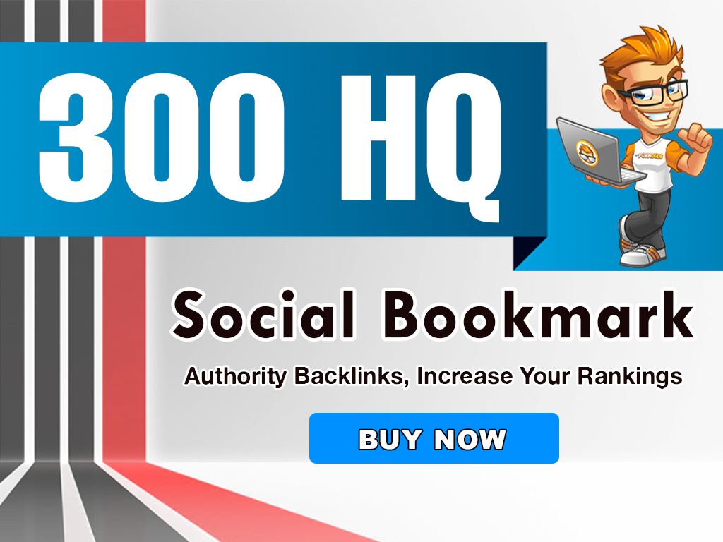 300+ social bookmarks to your site within 1 day